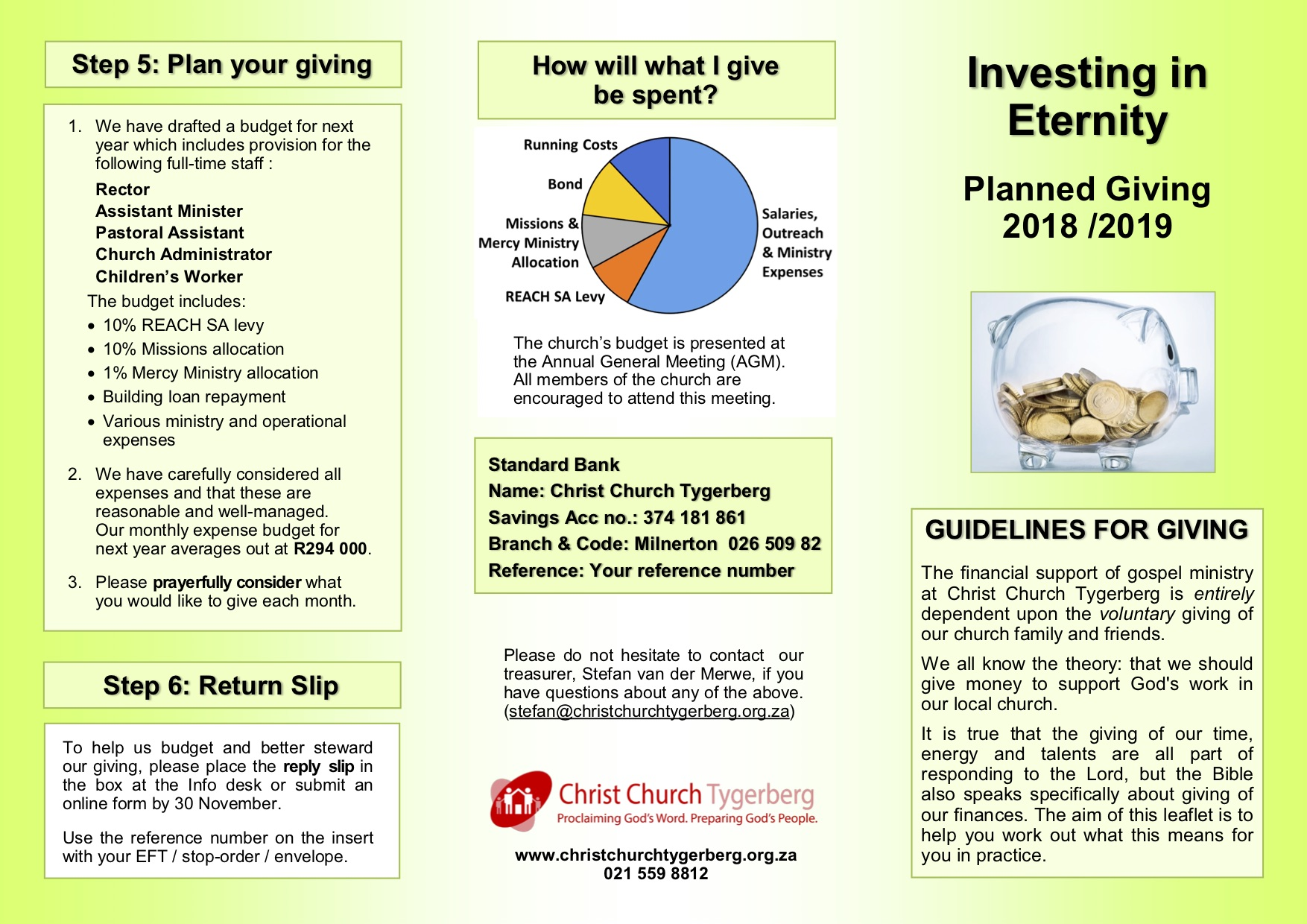CCT Planned Giving 2018 2019 2